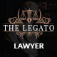 Legato Lawyer PSD Template