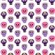 Skull Dia De Los Muertos Seamless Pattern - GraphicRiver Item for Sale