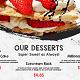 Restaurant Food Menu Promo - VideoHive Item for Sale