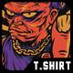Mad Frank T-Shirt Design - GraphicRiver Item for Sale