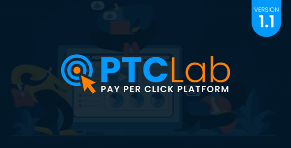 Download ptcLAB – Pay Per Click Platform Nulled