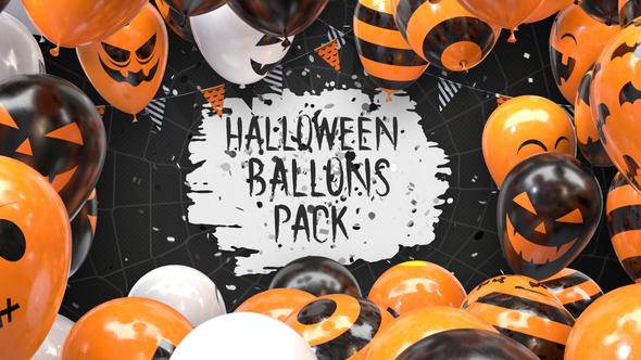 Halloween Balloon Pack