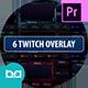 Twitch Overlay Stream | Premiere Pro MOGRT