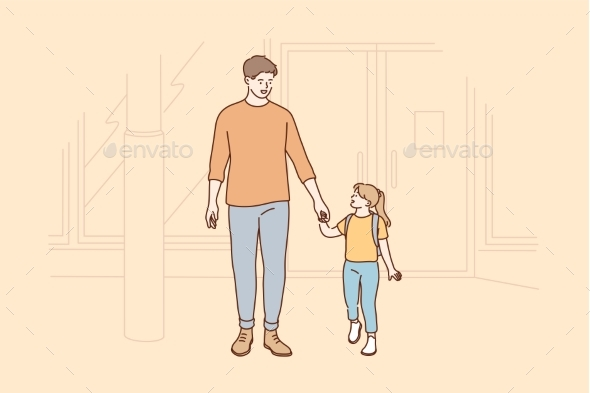Fatherhood, Childhood, Care, Love, Family