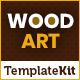 WoodArt - Artisan Template Kit - ThemeForest Item for Sale