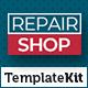 Repair Shop - Template Kit - ThemeForest Item for Sale