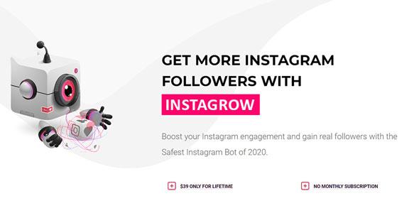 Instagram automation tool - InstaGrow