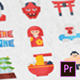 Japan Icons - Mogrt - VideoHive Item for Sale