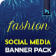 Fashion Social Media Banners - GraphicRiver Item for Sale