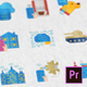 Internet of Things Modern Flat Animated Icons - Mogrt - VideoHive Item for Sale