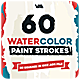 Watercolor Paint Strokes - Photoshop Brushes - GraphicRiver Item for Sale