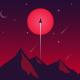 Space landscape - GraphicRiver Item for Sale