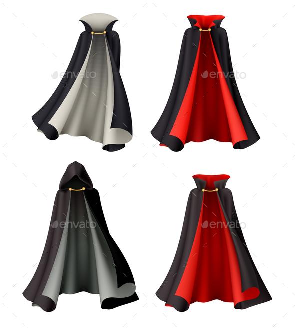 Halloween Gowns Costume Set