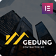 Gedung- Contractor & Building Construction Elementor Template Kit - ThemeForest Item for Sale