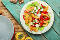 Salad with persimmon - PhotoDune Item for Sale