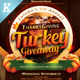 Thanksgiving Turkey Giveaway Flyer Templates - GraphicRiver Item for Sale