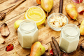Ginger smoothie with pear. - PhotoDune Item for Sale