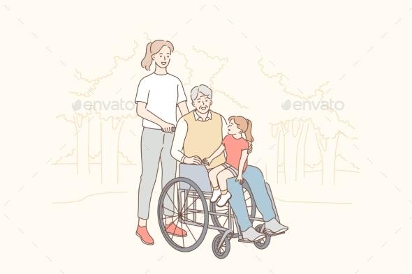 Health Care Disability Family Love