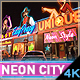 AD - Neon Show City Titles Intro - VideoHive Item for Sale