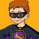 Little Boy in Superhero Costume - GraphicRiver Item for Sale