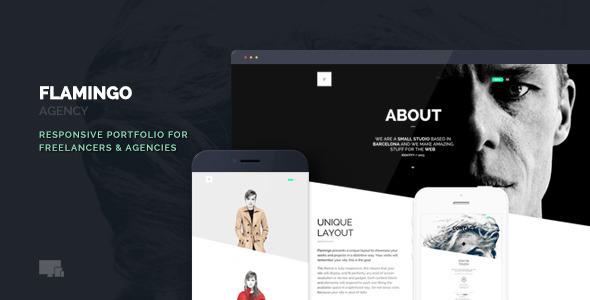 Flamingo – Agency & Freelance Portfolio Theme for WordPress