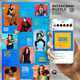 Shine - Instagram Puzzle Feed - GraphicRiver Item for Sale