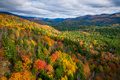 Aerial view of Mountain Forests in Autumn with Fall Colors in New England - PhotoDune Item for Sale
