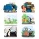Eco Green Energy Set, Flat Vector Illustration - GraphicRiver Item for Sale