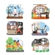Women Occupation Set, Flat Vector Isolated - GraphicRiver Item for Sale