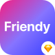 Friendy - Sketch Social Network Mobile UI Kit - ThemeForest Item for Sale