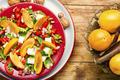 Fresh persimmon salad - PhotoDune Item for Sale