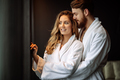 Couple in love enjoying wellness weekend - PhotoDune Item for Sale