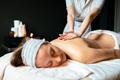 Beautiful woman enjoying massage - PhotoDune Item for Sale