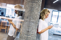 Beautiful woman using mobile phone - PhotoDune Item for Sale