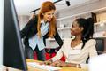 Busiensswoman advising colleague - PhotoDune Item for Sale