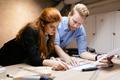 Creative designers working in workshop - PhotoDune Item for Sale