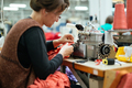 Woman working in textile industry - PhotoDune Item for Sale