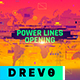 Power Lines Opening - VideoHive Item for Sale