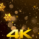 Christmas Snowflakes Background 1 - VideoHive Item for Sale