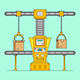 Conveyor System - GraphicRiver Item for Sale