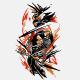 Ninja Assassin Tattoo Ink - GraphicRiver Item for Sale