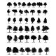 Tree Silhouettes Set - GraphicRiver Item for Sale