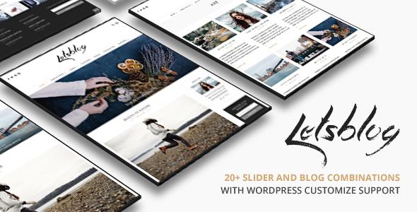 Lets Blog WordPress