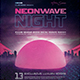 Retrowave Night 1980s VHS Synthwave Template - GraphicRiver Item for Sale