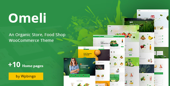 Omeli - Organic WooCommerce WordPress Theme