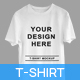 White Isolated T-Shirts on Hanger and Clean Mockups - GraphicRiver Item for Sale