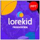 Lorekid Educational Presentation Template - GraphicRiver Item for Sale