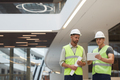 Construction Workers in Office Building - PhotoDune Item for Sale