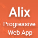 Alix: Multi Purpose PWA Mobile App Template - ThemeForest Item for Sale