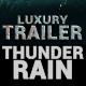 ThunderRain Trailer Teaser - VideoHive Item for Sale
